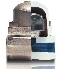 Термостатический-конденсатоотводчик TKK-3 с тремя капсулами