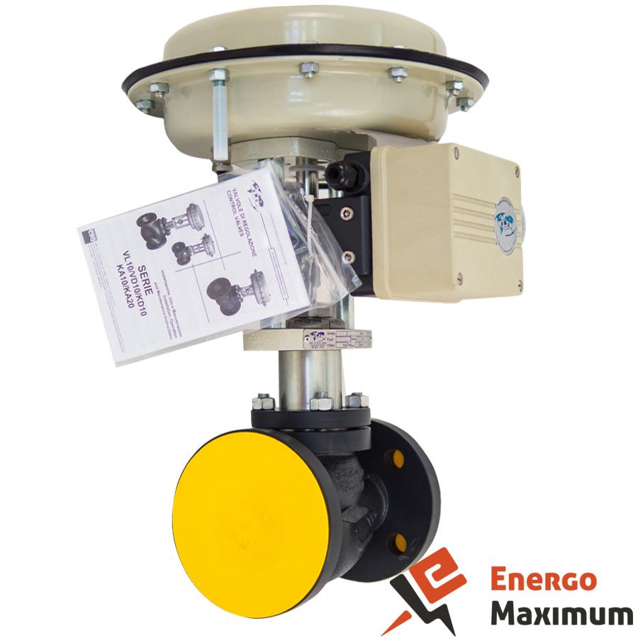 Регулирующий клапан c приводом VL10