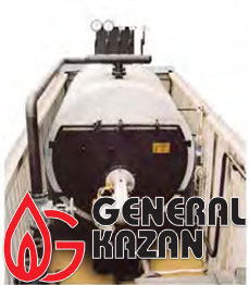 Мобильная паровая установка, мобильная теплостанция c жидким и газовым топливом