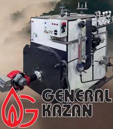 Компактные парогенераторы сжидким и газовым топливомтипа g-csg
